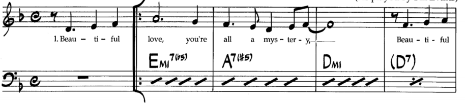 Jazz Piano Lesson How To Play Slash Chords On Learnjazzpiano
