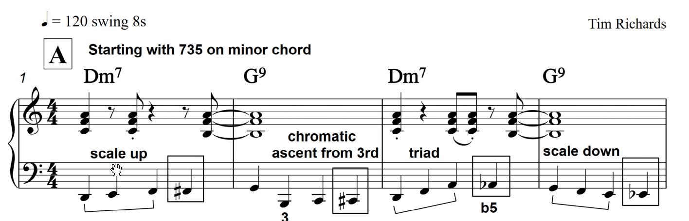 Tim Richards Jazz Piano Notebook On Learnjazzpiano