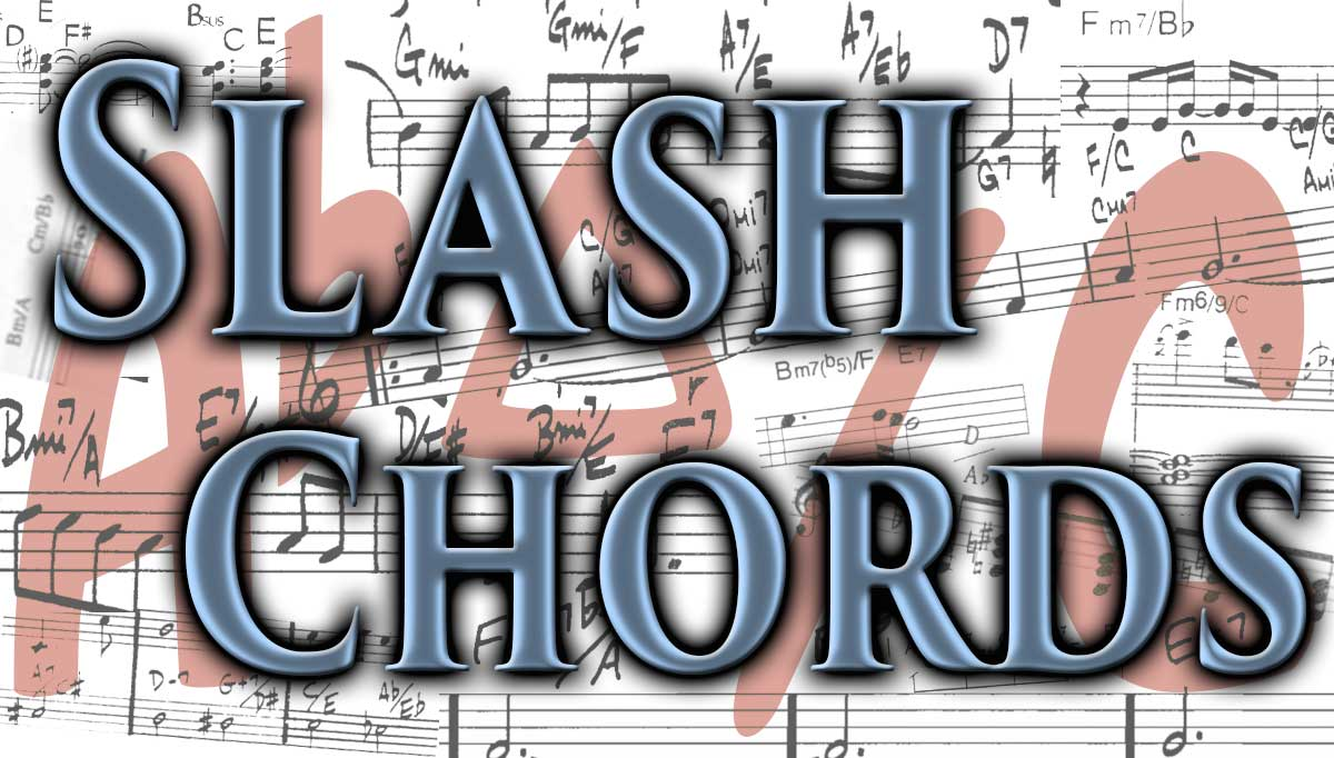 Jazz piano lesson how to play slash chords on learnjazzpiano slash chords like c7e are only a mystery once here is the easy answer hexwebz Choice Image