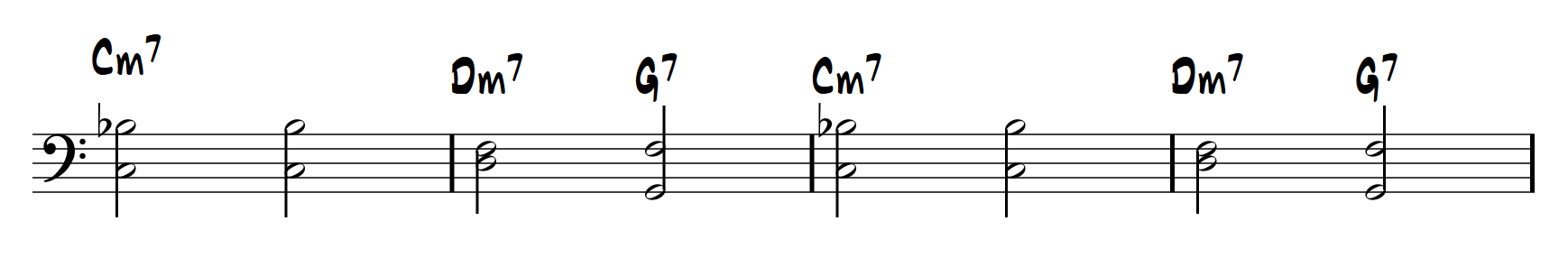 LearnJazzPiano.com - Softly as in a Morning Sunrise, figure 1